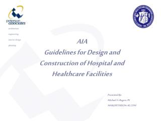 AIA Guidelines for Design and Construction of Hospital and Healthcare Facilities