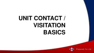 Unit  Contact / Visitation  Basics