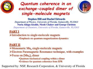 Quantum coherence in an exchange-coupled dimer of single-molecule magnets