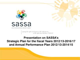 Presentation on SASSA's