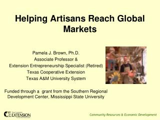 Helping Artisans Reach Global Markets