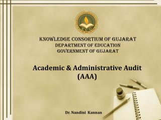 Knowledge Consortium of Gujarat Department of Education Government of Gujarat