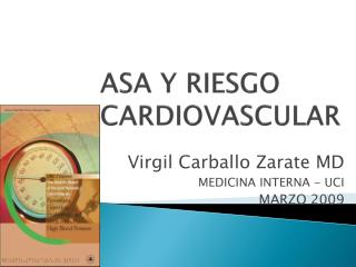 Virgil Carballo Zarate MD MEDICINA INTERNA - UCI MARZO 2009