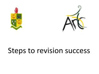Steps to revision success
