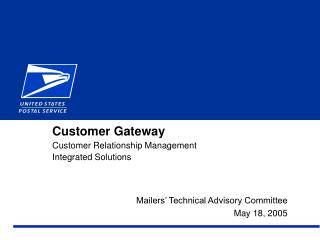 Customer Gateway Customer Relationship Management Integrated Solutions