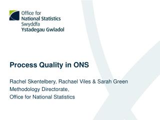 Process Quality in ONS