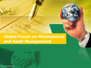Global Forum on Maintenance and Asset Management