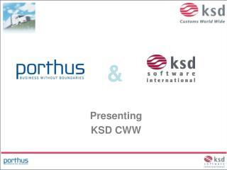 Presenting KSD CWW