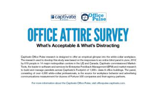 Office Attire Survey