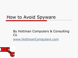 How to Avoid Spyware