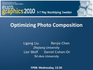 Optimizing Photo Composition