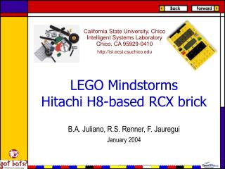 LEGO Mindstorms Hitachi H8-based RCX brick