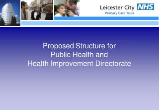 Proposed Structure for Public Health and  Health Improvement Directorate