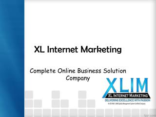 Complete Online Business Solution Company - XLIM
