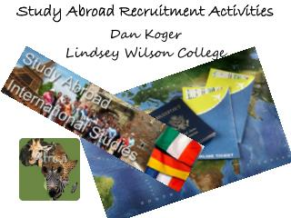 Study Abroad Recruitment Activities