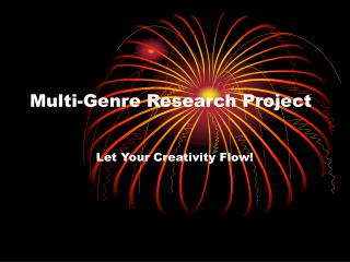 Multi-Genre Research Project