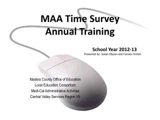 MAA Time Survey  Annual Training