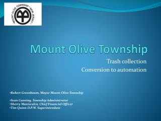 Mount Olive Township