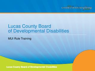 Lucas County Board  of Developmental Disabilities
