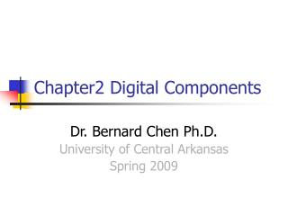 Chapter2 Digital Components