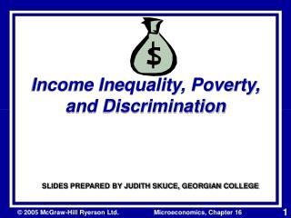 Income Inequality, Poverty, and Discrimination