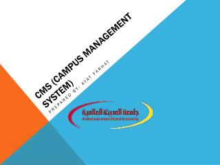 CMS  (Campus Management System )