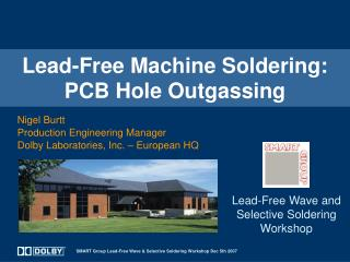 Lead-Free Machine Soldering: PCB Hole Outgassing