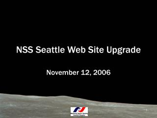 NSS Seattle Web Site Upgrade