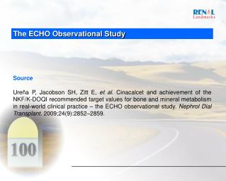 The ECHO Observational Study