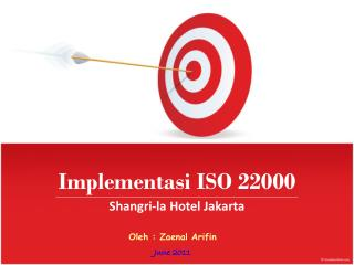 Implementasi ISO 22000