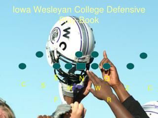 Iowa Wesleyan College Defensive Play-Book