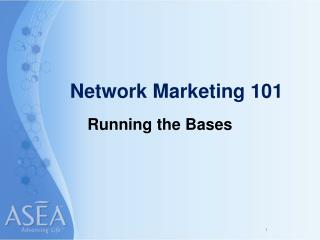Network Marketing 101