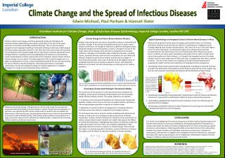 Grantham Institute for Climate Change, Dept. of Infectious Disease Epidemiology, Imperial College London, London W2 1PG