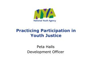 Practicing Participation in Youth Justice