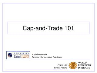 Cap-and-Trade 101