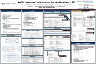 LexRDF: An Approach for Representing Biomedical Ontologies in RDF