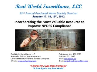 Incorporating the Most Valuable Resource to Improve NPDES Compliance