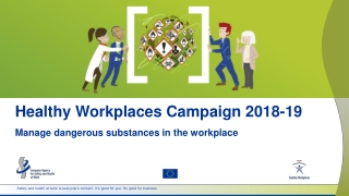 Healthy Workplaces Campaign 2018-19
