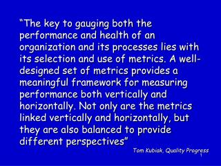 Tools for Identifying Measures
