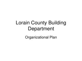 Lorain County Building Department