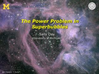 The Power Problem in Superbubbles