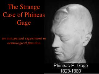 The Strange Case of Phineas Gage