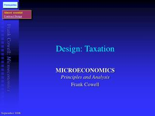 Design: Taxation
