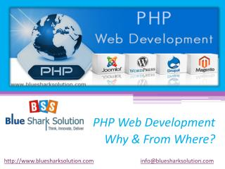 PHP web development - Why and from where?