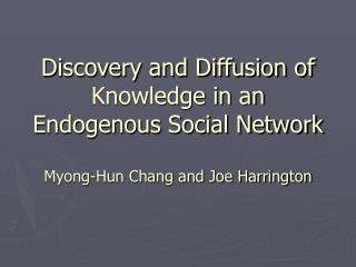 Social Accumulation of Knowledge