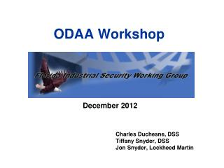 ODAA Workshop