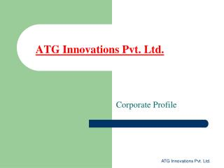 ATG Innovations Pvt. Ltd.