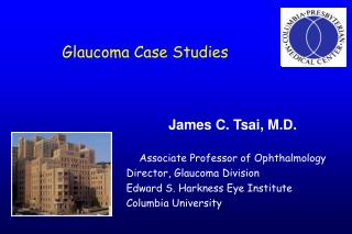 Glaucoma Case Studies