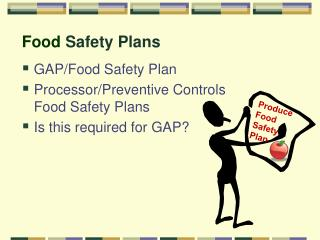 Food  Safety Plans