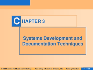 Documenting Internal Controls: Accounting and Information Systems